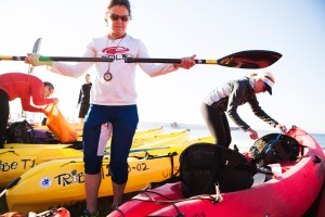 adventure racing: kayaks